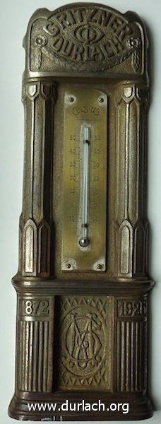 Thermometer Fa. Gritzner