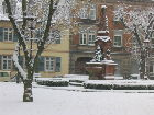 Hengstplatz im Winter