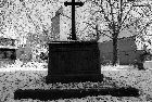1988 - Alter Friedhof im Winter