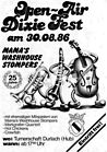 1986 - Dixie Fest 25 Jahre Mama's Washhouse Stompers