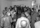 Vernissage in der Galerie am Basler Tor, 1989
